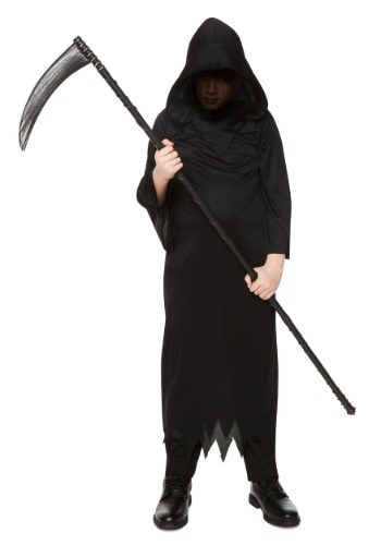 Click Here to buy Grim Reaper Kids Costume from HalloweenCostumes, CDN Funds & Shipping