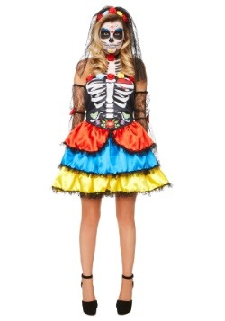 Women's Day of the Dead Senorita Costume