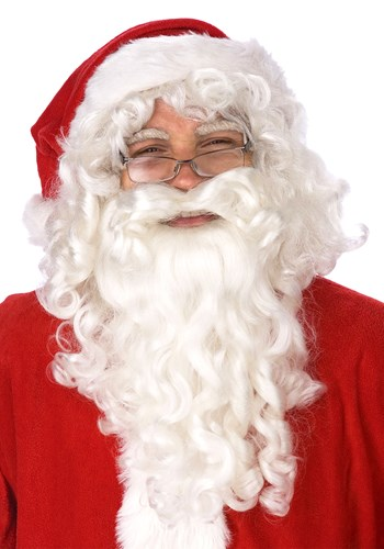 Click Here to buy Santa Claus Wig and Beard Set from HalloweenCostumes, CDN Funds & Shipping