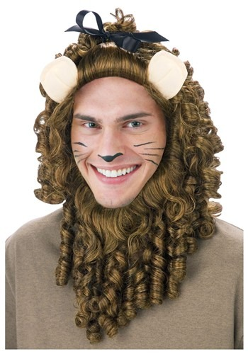 Click Here to buy Deluxe Curly Lion Wig from HalloweenCostumes, CDN Funds & Shipping