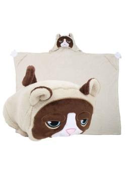 Grumpy Cat Comfy Critter Blanket