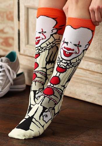 IT Pennywise Movie Crew Socks