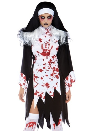 Deadly Nun Womens Costume
