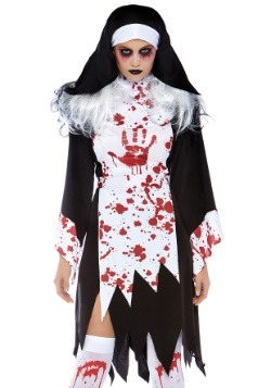 Women's Deadly Nun Costume