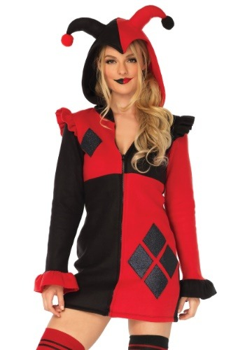Cozy Harlequin Costume for Women