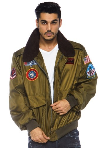 Top Gun Men's Nylon Bomber Jacket