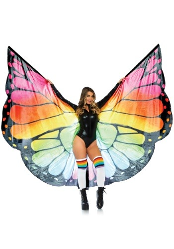 Rainbow Butterfly Wings