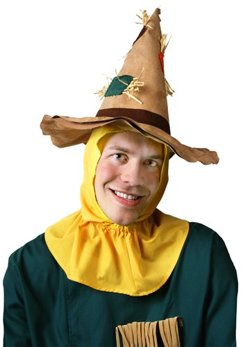 Click Here to buy Adult Scarecrow Hat from HalloweenCostumes, CDN Funds