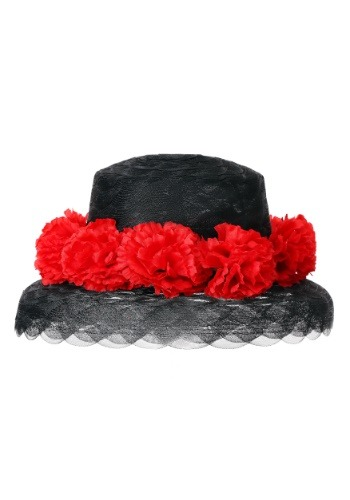 Click Here to buy Floral Womens Derby Hat from HalloweenCostumes, CDN Funds & Shipping