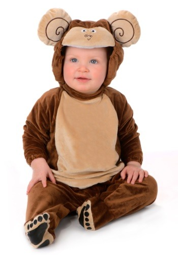 Click Here to buy Little Monkey Costume for an Baby from HalloweenCostumes, CDN Funds & Shipping