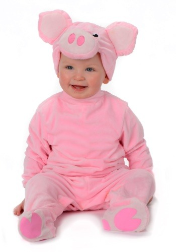 Pig Costume for an Infant