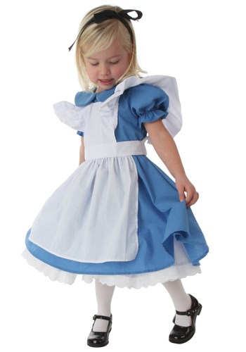 Click Here to buy Deluxe Toddler Alice Costume from HalloweenCostumes, CDN Funds & Shipping