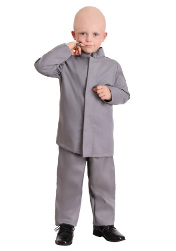 Toddler Grey Suit Costume