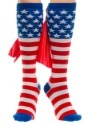 Knee High American Flag Cape Socks