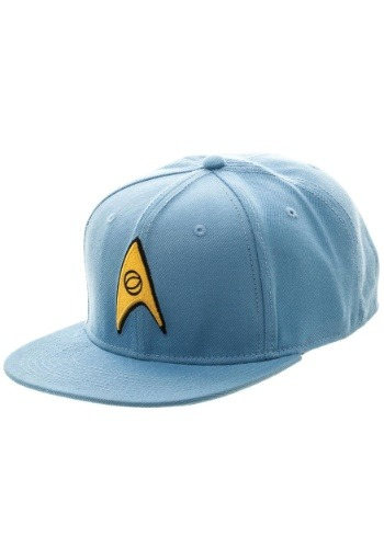 Click Here to buy Blue Star Trek Snapback Hat from HalloweenCostumes, CDN Funds & Shipping