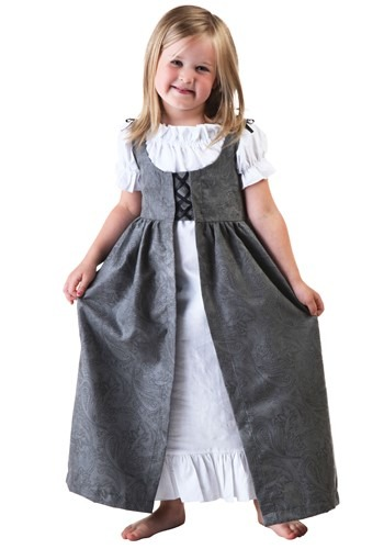 Click Here to buy Toddler Girls Renaissance Faire Costume from HalloweenCostumes, CDN Funds & Shipping
