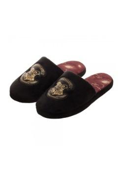Adult Hogwarts Crest Black Slipper Slides