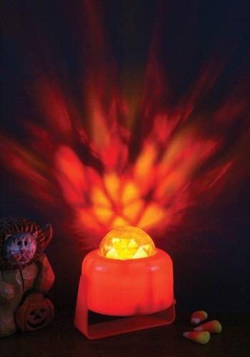 Flaming Pumpkin Light