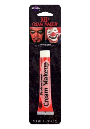 Click Here to buy Red Professional Cream Makeup from HalloweenCostumes, CDN Funds & Shipping