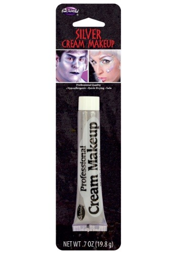 Click Here to buy Silver Professional Cream Makeup from HalloweenCostumes, CDN Funds & Shipping