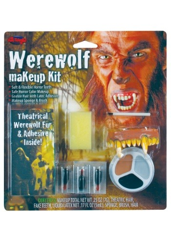 Click Here to buy Scary Werewolf Makeup Kit from HalloweenCostumes, CDN Funds
