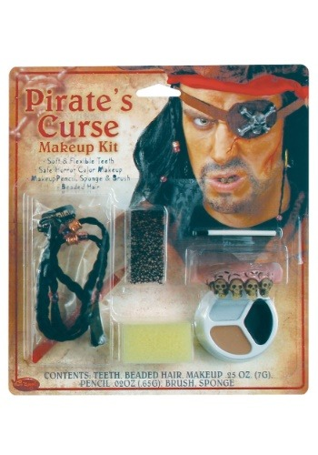 Click Here to buy Pirates Curse Makeup Kit from HalloweenCostumes, CDN Funds & Shipping