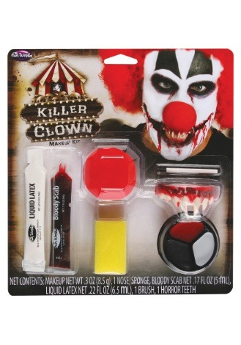Click Here to buy Killer Clown Makeup Kit from HalloweenCostumes, CDN Funds & Shipping
