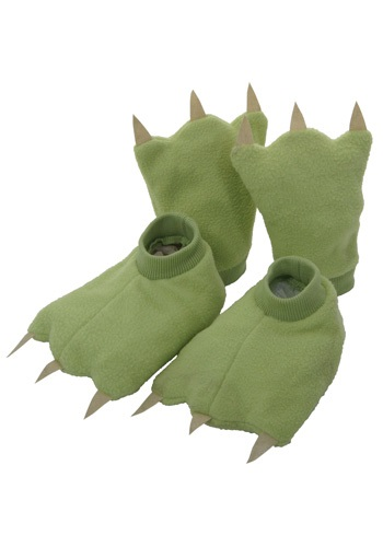 Click Here to buy Kids Dinosaur Hands and Feet from HalloweenCostumes, CDN Funds & Shipping