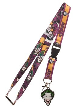 DC Batman Joker Lanyard
