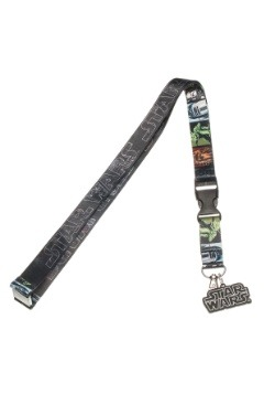 Star Wars Logo Lanyard