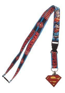 DC Superman Lanyard1