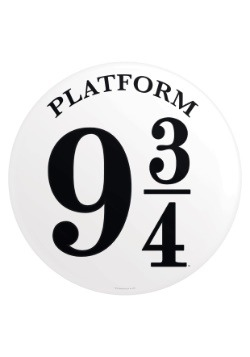 Harry Potter Platform 9 3/4 Tin Sign