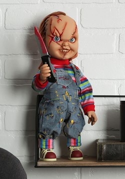 "15"" Chucky Scarred Talking Good Guy Doll"