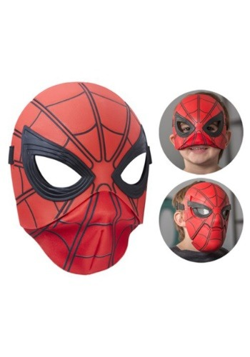 Click Here to buy Flip Up Mask Spider-Man Homecoming from HalloweenCostumes, CDN Funds & Shipping