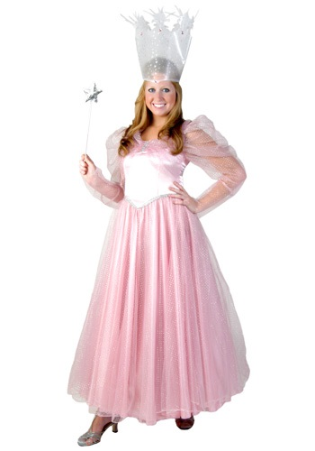 Click Here to buy Deluxe Plus Size Pink Witch Costume from HalloweenCostumes, CDN Funds & Shipping