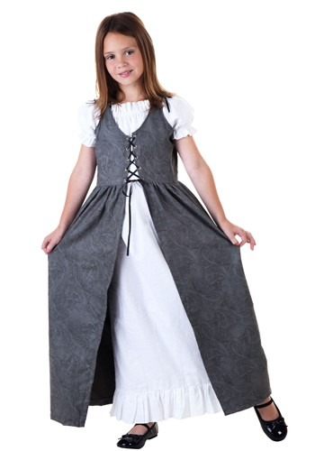Click Here to buy Girls Renaissance Faire Costume from HalloweenCostumes, CDN Funds & Shipping