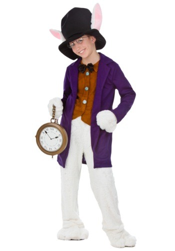 White Rabbit Child Size Costume