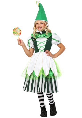 Child Deluxe Girl Munchkin Costume