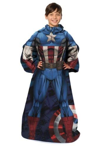 Captain America Child Comfy Throw
