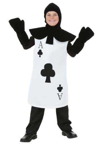 Click Here to buy Kids Ace of Clubs Costume from HalloweenCostumes, CDN Funds & Shipping