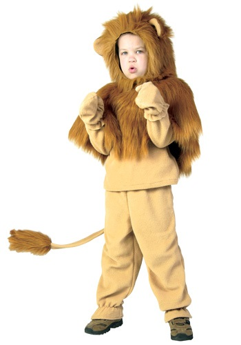 Child Storybook Lion Costume