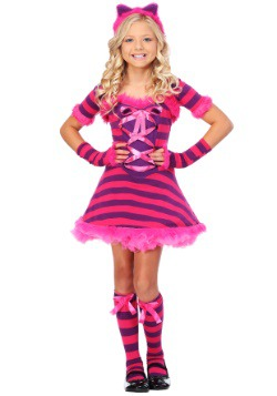 Child Sassy Wonderland Cat Costume