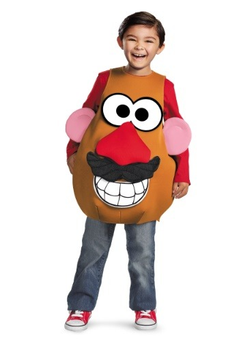 Mrs/Mr Potato Head Costume for Kids
