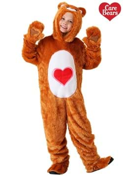 Kids Care Bears Classic Tenderheart Bear Costume
