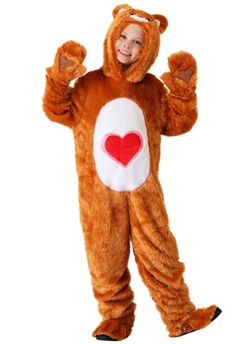 Click Here to buy Kids Care Bears Classic Tenderheart Bear Costume from HalloweenCostumes, CDN Funds & Shipping
