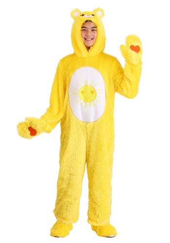 Click Here to buy Kidss Care Bears Classic Funshine Bear Costume from HalloweenCostumes, CDN Funds & Shipping