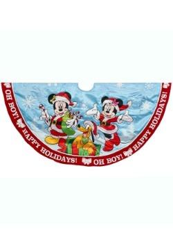 48 Inch Mickey and Minnie Printed Satin Treeskirt