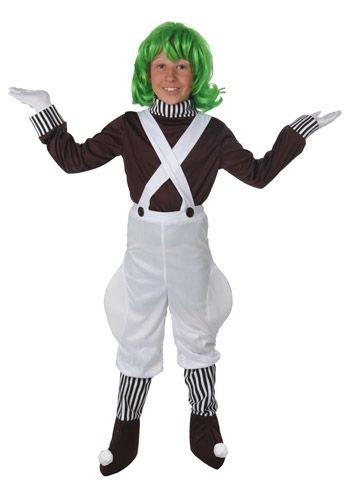 Kids Chocolate Factory Worker Costume