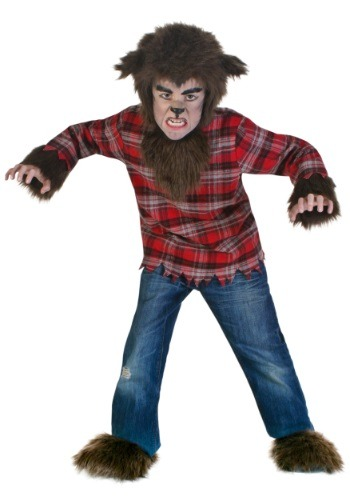 Click Here to buy Kids Fierce Werewolf Costume from HalloweenCostumes, CDN Funds & Shipping