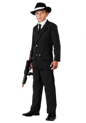 Kid's Deluxe Gangster Suit
